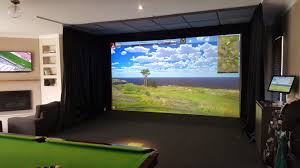 residential golf simulator