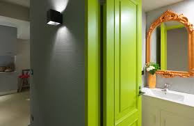 gorgeous modern neon bathroom ideas