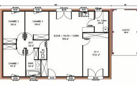plan maison 4 chambres plan et photos maison 4 chambres de 91 m