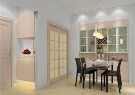 3d design dining room sliding door 3d house