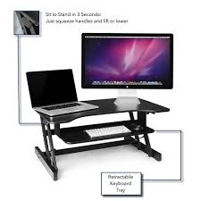 amazon com standing desk adjustable height sit stand up desktop