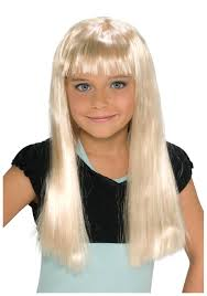 Halloween Costumes Wigs Child Blonde Alice Wig