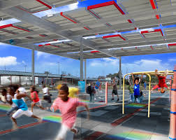 Solar Canopy by Nrg Energy Brings Solar Power To New Orleans U2013 Unveils