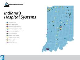 State Of Indiana Map by Hospital System Maps
