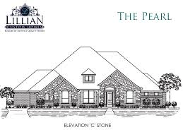the pearl mcalpin manor new home floor plan midlothian texas