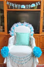 baby shower chair covers baby showerair ideas seat decoration modern