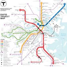 Metro Map New York by Boston Subway Map With Streets My Blog
