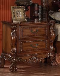 cherry oak bedroom set acme acme dresden traditional arch bedroom set in cherry oak