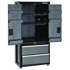 craftsman plastic tall 73 storage floor cabinet craftsman 114556 premium heavy duty floor cabinet trio sears