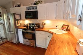 what is the best countertop to put in a kitchen best method for treating a butcher block counter top