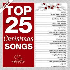 various artists top 25 christmas songs amazon com music
