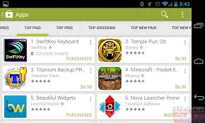 hands on with the google play store 4 0 leak a google now