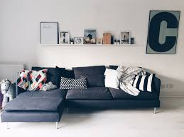 Ikea Leather Sofa Sater Still Too Much Ikea Here But You Can Start To See How The Sofa