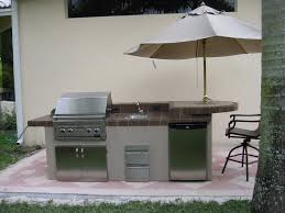 Outdoor Kitchen Construction High Performance Concrete Cladding Brick Exterior Marble Look
