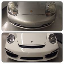 porsche old 996 to new 2014 porsche 991 face lift front end