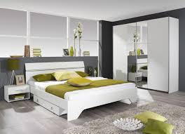 chambre contemporaine design chambre adulte contemporaine coloris blanc chambre