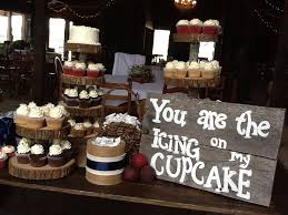 rustic wedding cupcakes rustic wedding cupcake display words that warm your