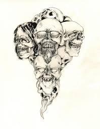 41 best badass skull tattoo designs images on pinterest skulls