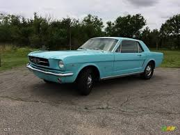 1965 Mustang Black 1965 Tropical Turquoise Ford Mustang Coupe 101800590 Gtcarlot
