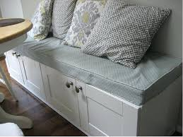 Kitchen Bench Seat With Storage Built In Bench Seating With Storage Floorganics