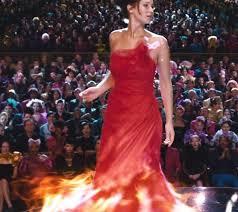 her flaming dress katniss u0027s closet pinterest