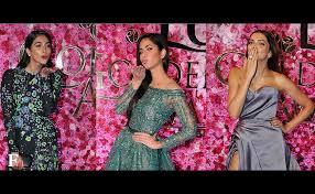 5 Deepika Padukone Controversies That Stunned Bollywood - lux golden rose awards deepika katrina kareena stun crowds at the