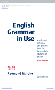 english grammar in use3 intermediate upper intermediate book with ans u2026