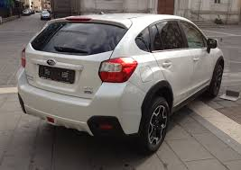 File Subaru Xv 2 0 Diesel Rear Jpg Wikimedia Commons