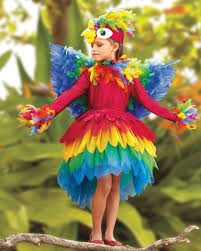 Sunflower Halloween Costume Parrot Costume Costumes Costumes Girls