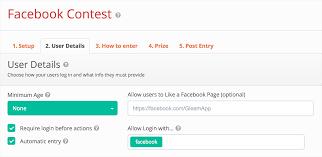 how to run a successful facebook contest using gleam io