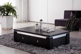 lovely black modern coffee tables with latest home interior design