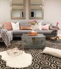 modern chic living room ideas chic design modern boho basement small apartment living