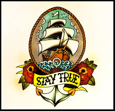 how to draw an old ship tattoo flash design with roses and