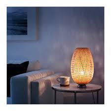 Bamboo Desk Lamp Böja Table Lamp Nickel Plated Bamboo Ikea
