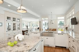 antique white kitchen cabinets with subway tile backsplash 10 antique white kitchen cabinets that jazz your kitchen up
