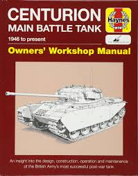 centurion tank manual owners u0027 workshop manual amazon co uk
