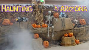 decorating for halloween party in arizona youtube
