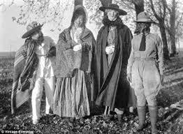 photographs show america celebrated halloween 1875