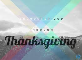 enter his gate with thanksgiving encountering god through thanksgiving first15