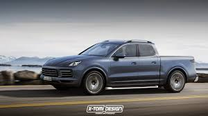 Porsche Cayenne Lifted - it had to be done new porsche cayenne imagined as a pickup truck