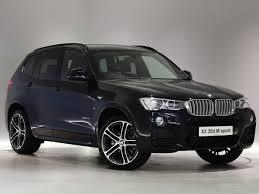 bmw x3 m sport black 2017 bmw x3 diesel estate xdrive35d m sport 5dr auto