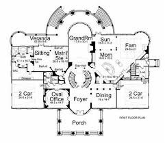 colonial style floor plans inspired by the white house with 6 bdrms 8210 sq ft floor plan