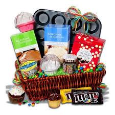 cupcake gift baskets cupcake smorgasbord gift basket