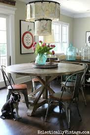 diy round farmhouse table industrial rustic diy round table coma frique studio ef7d17d1776b