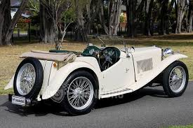 sold mg tc roadster auctions lot 31 shannons