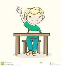 Picture Of Student Sitting At Desk Good Student Sitting At Desk Clipart Clipartsgram Com