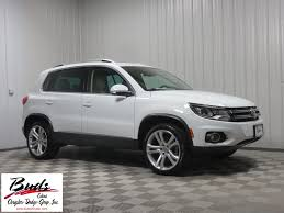 volkswagen tiguan white 2016 volkswagen tiguan in ohio for sale used cars on buysellsearch