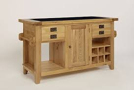 kitchen island oak chiltern grand oak granite top kitchen island