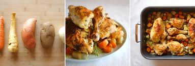 baked chicken with fall vegetables right home