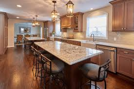 brown kitchen cabinets backsplash ideas 75 beautiful kitchen with brown cabinets and gray backsplash